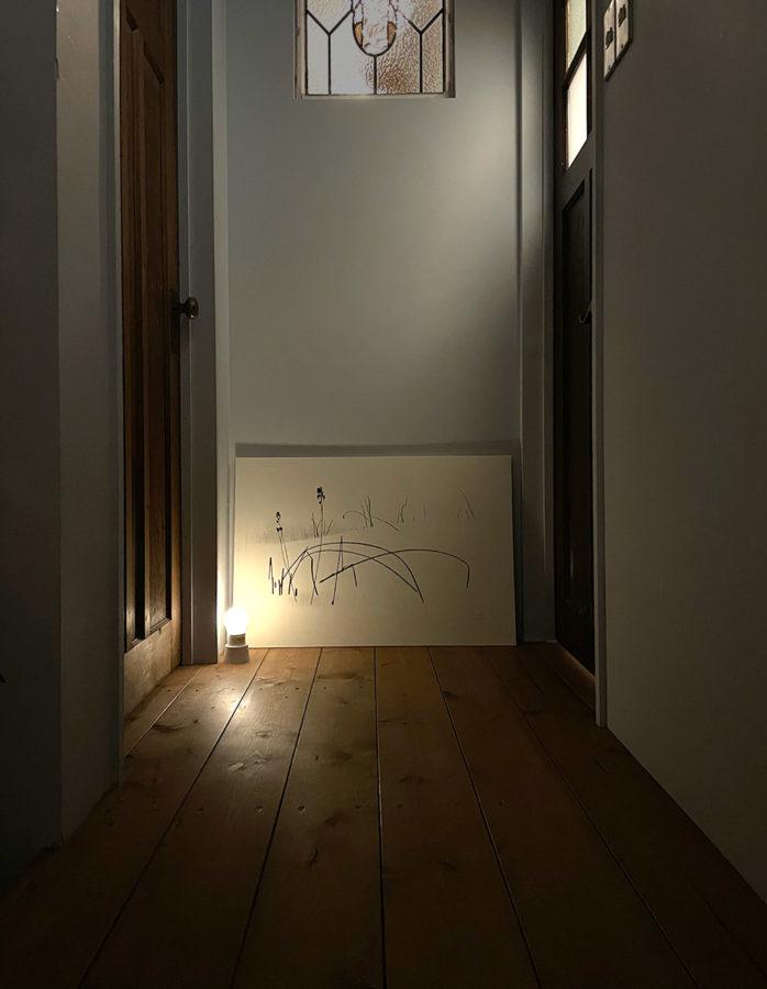 『白の気配』中村眞美子 銅版画
